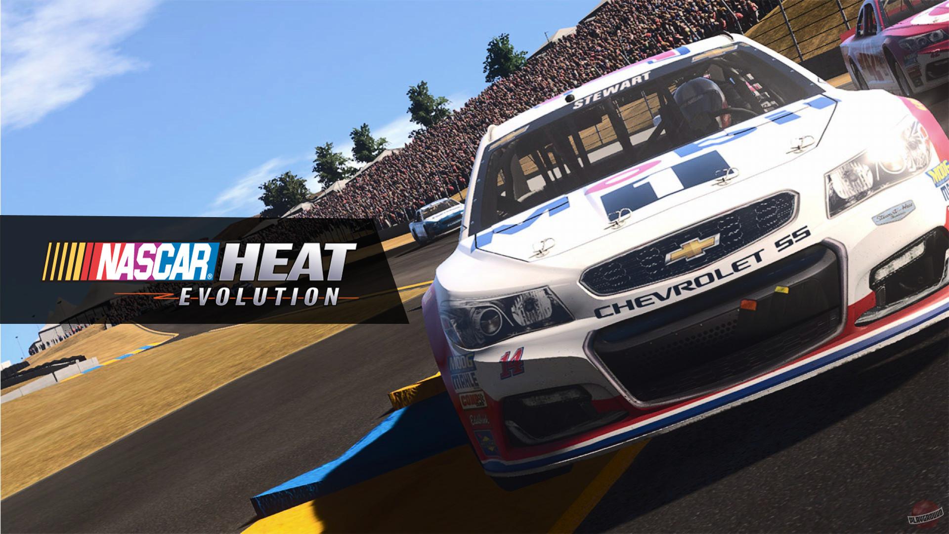 nascar heat, nascar heat evolution, racing video game, racing game, xbox racing game, ps4 racing game, mobile racing game