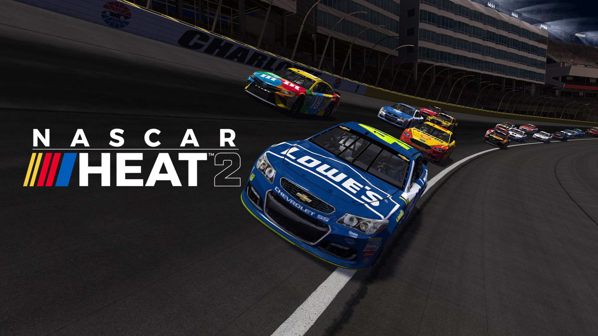 nascar heat, nascar heat 2, racing video game, racing game, xbox racing game, ps4 racing game, mobile racing game