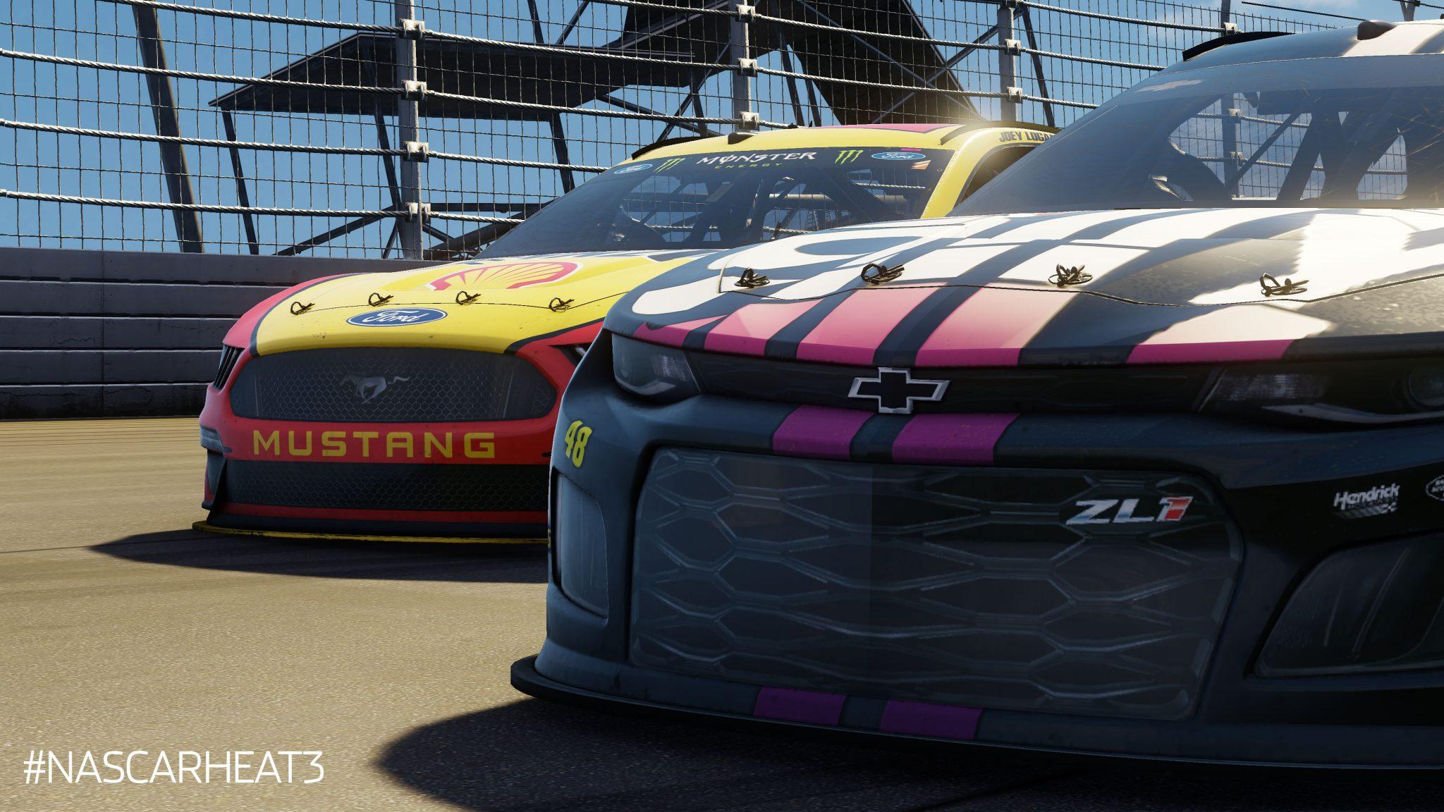 best car racing game xbox 1, jimmie johnson 2019, joey logano 2019, nascar heat, nascar heat 2019 season update, nascar heat 3 dlc, nascar heat dlc update, ps3 nascar heat update,