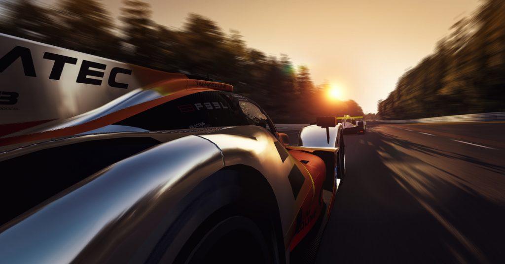 24 hr le mans virtual, esports, racing, 24 hr virtual, fia, motorsport games