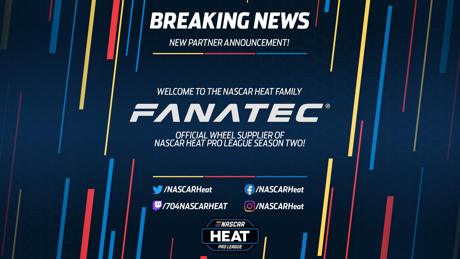 Fanatec NASCAR Heat Pro League