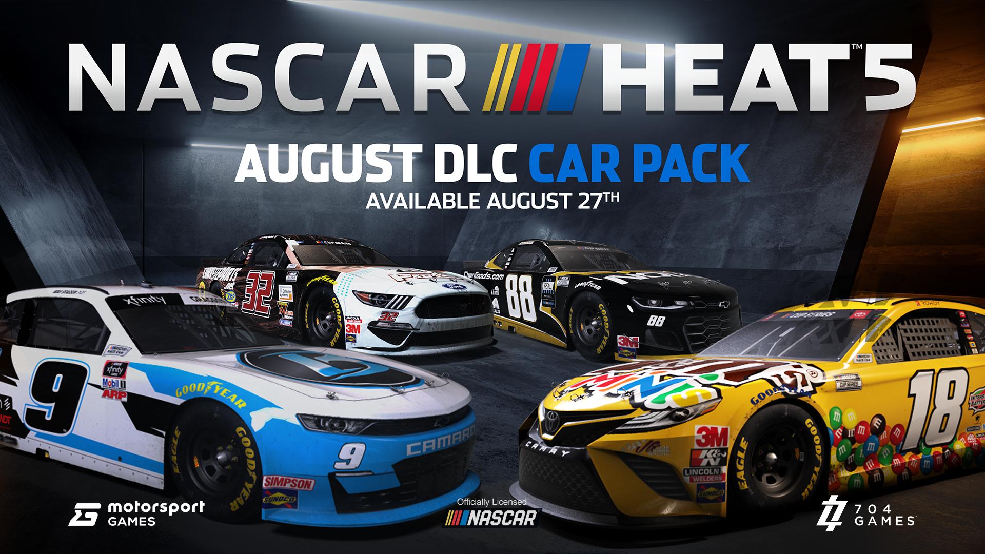 NASCAR Heat 5 August DLC