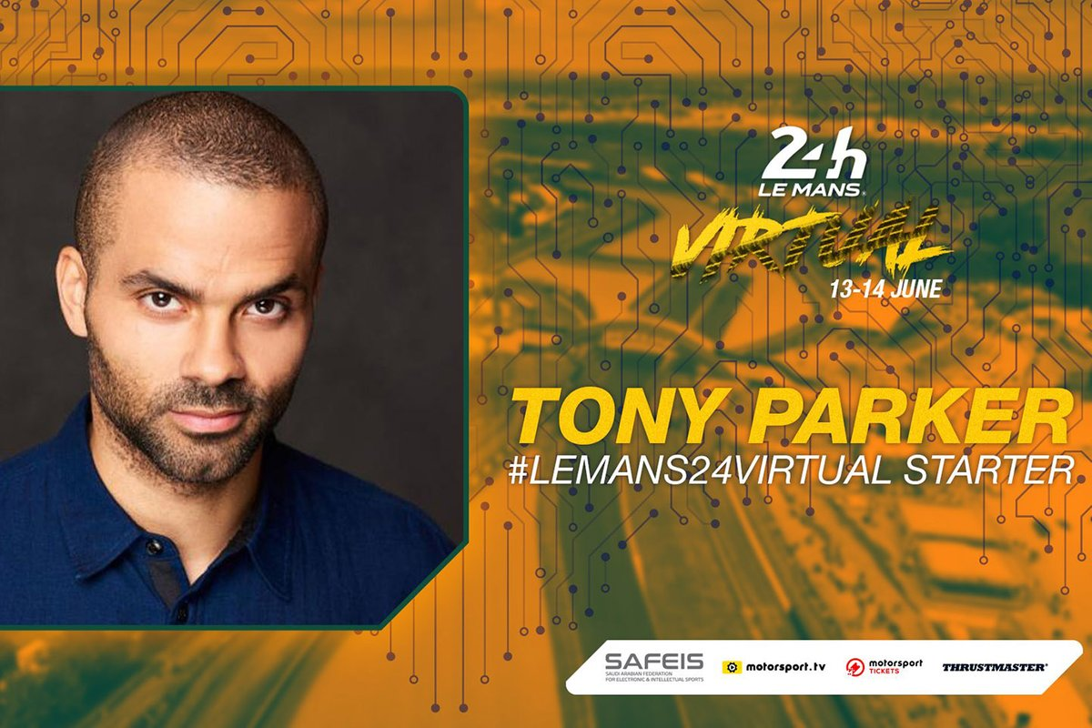 Tony Parker 24 Hours of Le Mans Virtual